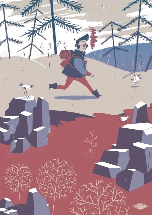 Histoire naturelle - illustration - ockto | ello