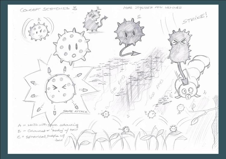 Game Character concept art - superhilbo | ello
