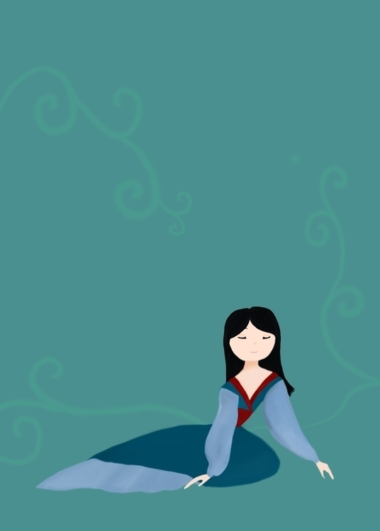 Mulan, fourth piece Disney Prin - af4rin | ello
