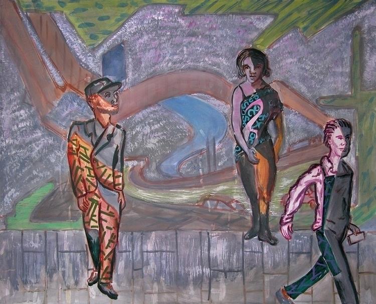 Aspen - painting - frankcreber | ello