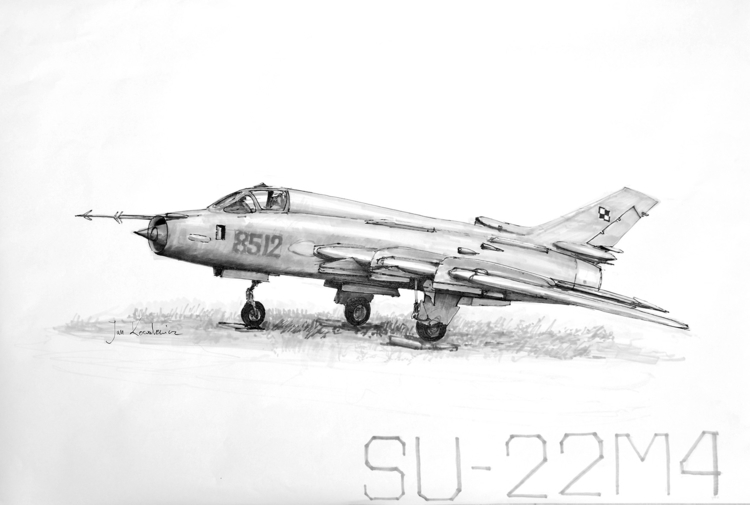 SU - 22M4 Tria Markers B2 - fighter - jandraws | ello