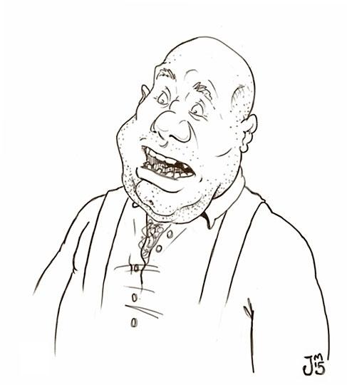 George explaining Daily Doodle - jasonmartin-1263 | ello