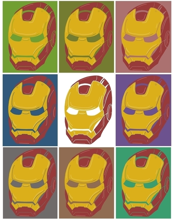 illustration, marvel, ironman - kylefinnerty | ello