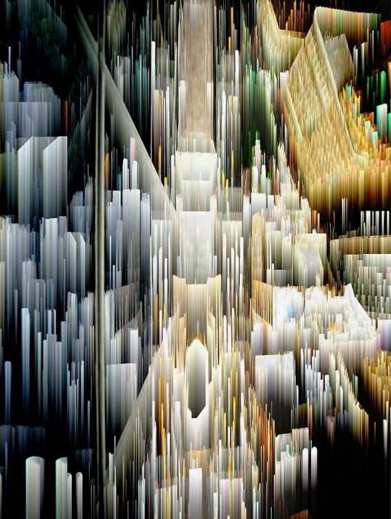 34. Paradice - city, newyork, digitalart - raphaelsinclair | ello