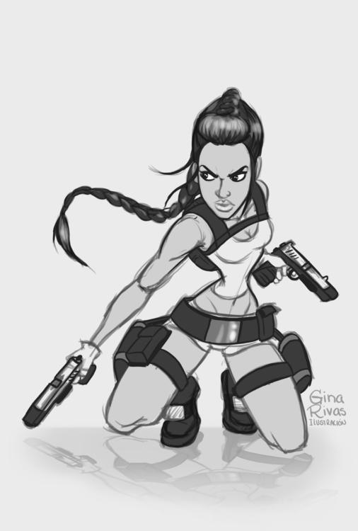 Lara Croft - ginarivas | ello