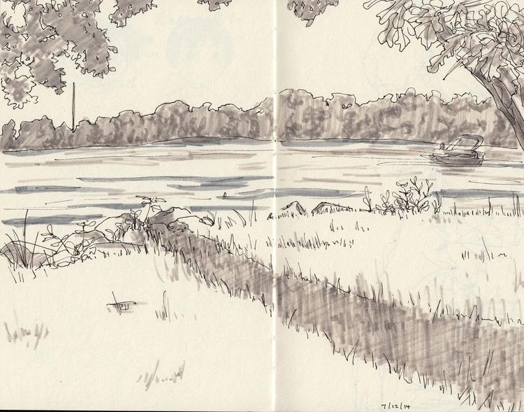 observational study - sketchbook - linbhu | ello