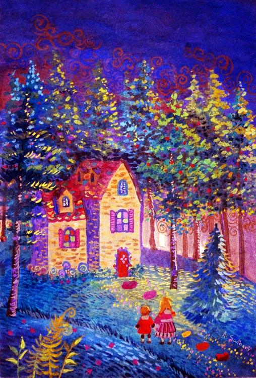 Hansel Gretel - children'sillustration - annieswihart | ello