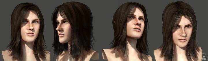 3d, female, gameart, characterdesign - miwi-9146 | ello
