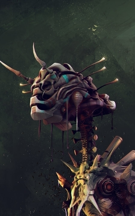 Mantis - 3d, illustration, characterdesign - stijn-2389 | ello