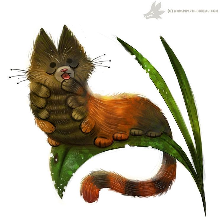 Daily Painting Caterpillar (OG - piperthibodeau | ello