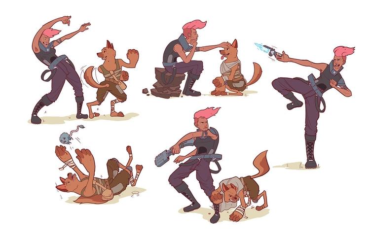 Character design Dungeons Drago - kalegiro   ello