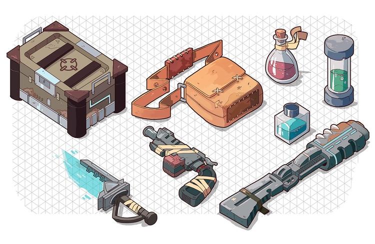 Character design Dungeons Drago - kalegiro | ello