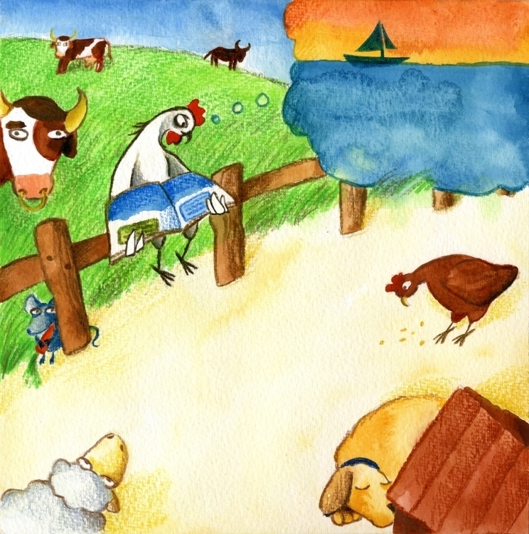 Dreams Sea - illustration, children'sillustration - prianikn   ello