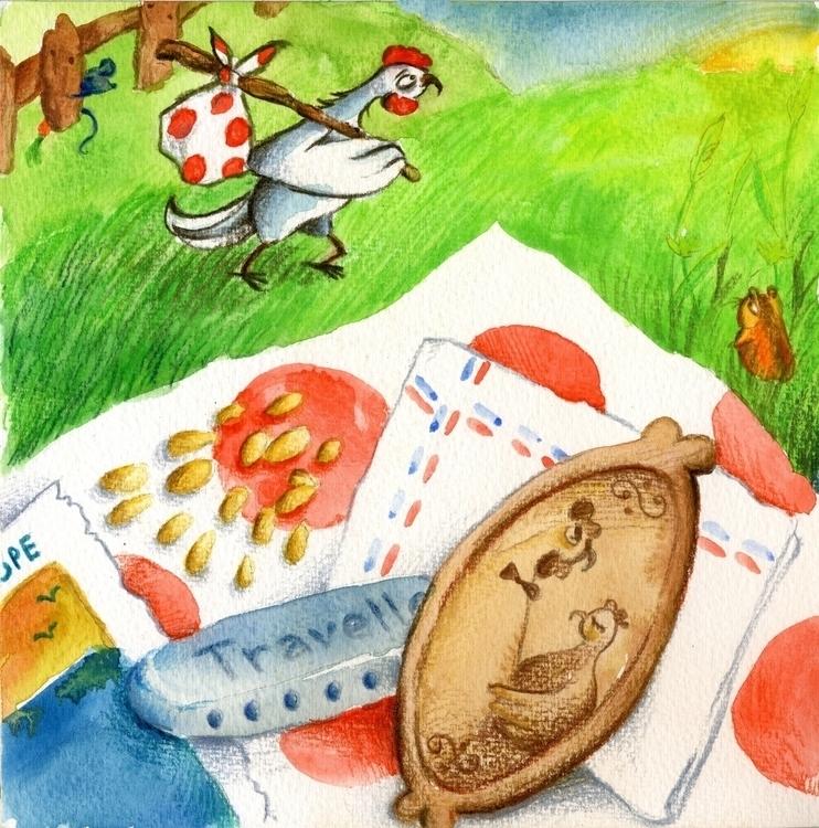 Journey begins - illustration, children'sillustration - prianikn | ello