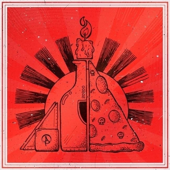- Trinidad - illustration, pizza - billy20200 | ello