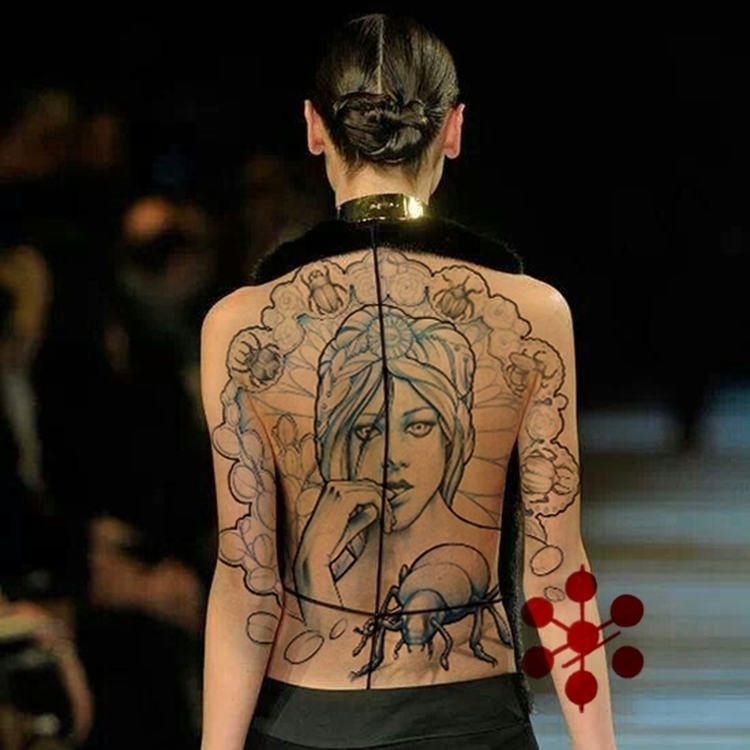 illustration, backtattoo, tattoo - yorickfauquant | ello