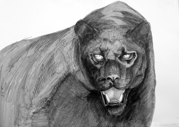 Black Panther Tria Markers, B2 - jandraws | ello