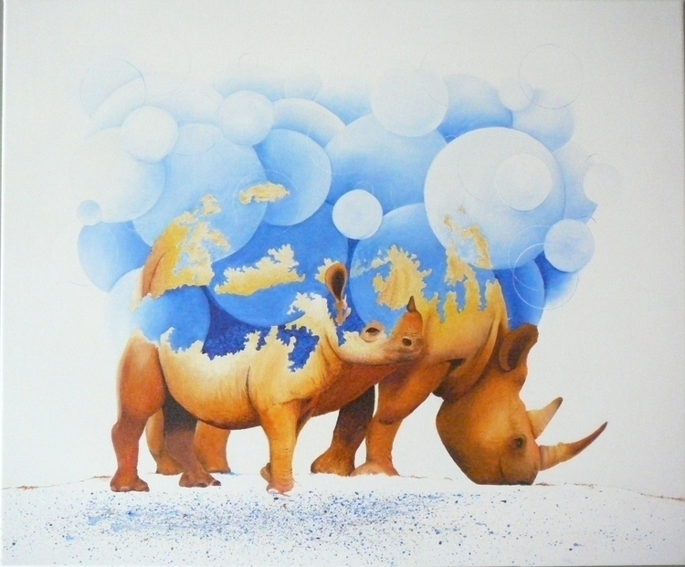 rhino, spiritual - patrickvandeput | ello