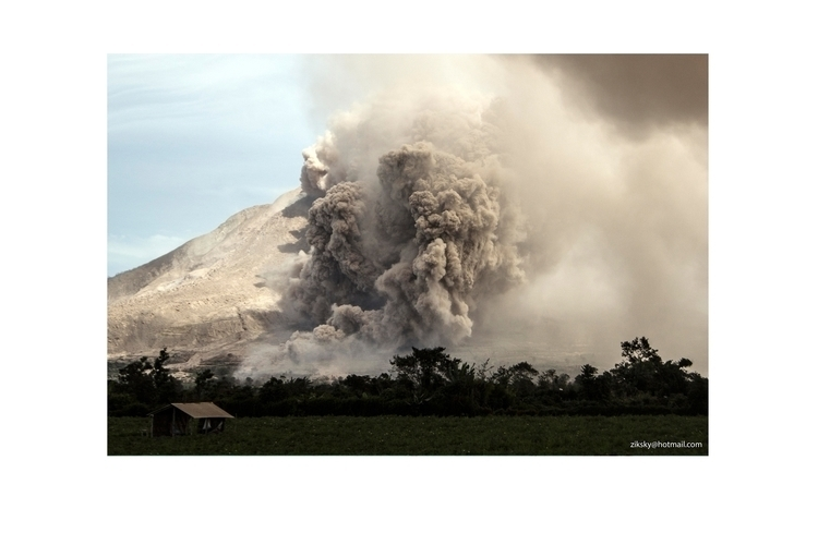 Mount Sinabung Volcano - volcano - ziksky | ello
