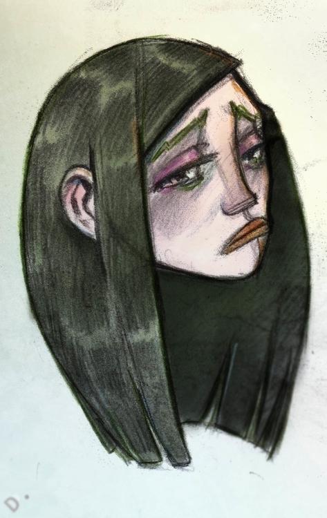 illustration, dedadarko, sad - dedadarko   ello