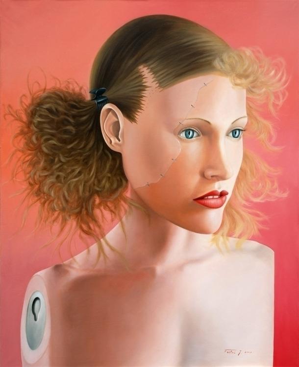 Sylvia, oil / canvas, 125 100 c - jozz-1181 | ello