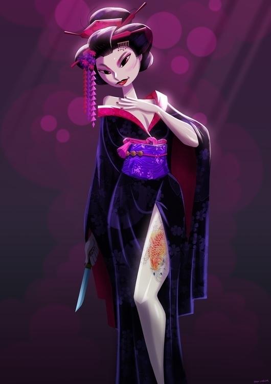Character design Facebook chall - hugocuellar | ello