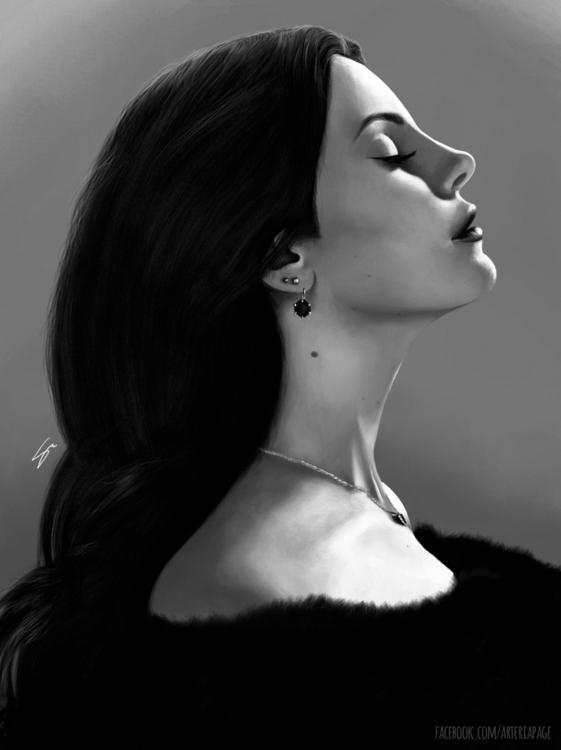 Lana Del Rey - 02, lanadelrey, digitalart - stellamorato | ello