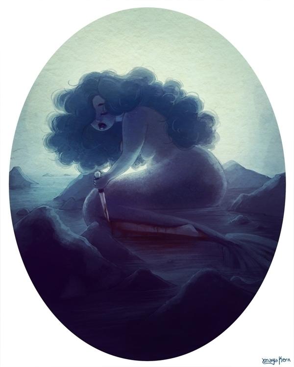 monster girl zine - mermaid, blood - mayakern   ello