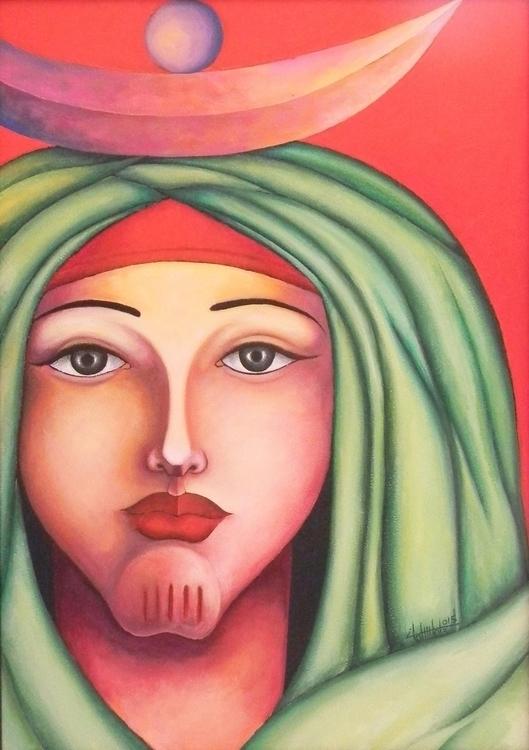 acrylic painting - mohamedelmoslemany | ello