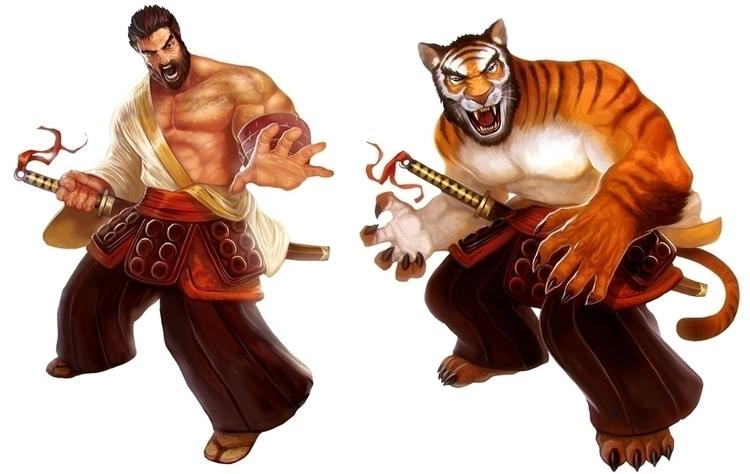 Character Samurai Spirit - samurai - victorperezcorbella | ello