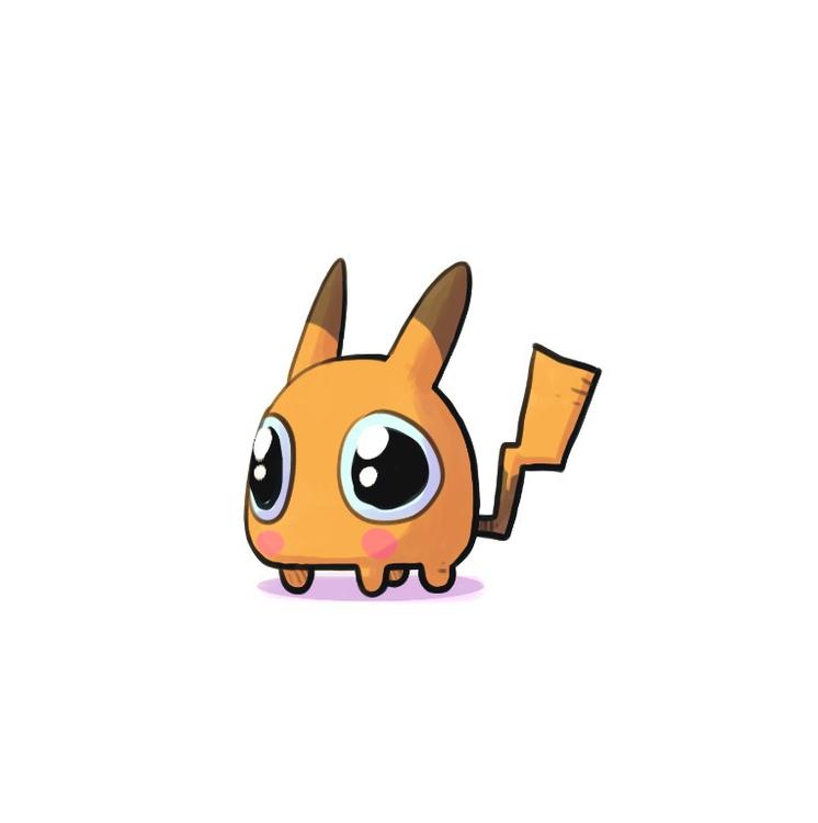 Pikachu - pikachu, pokemon - indiana_jonas | ello