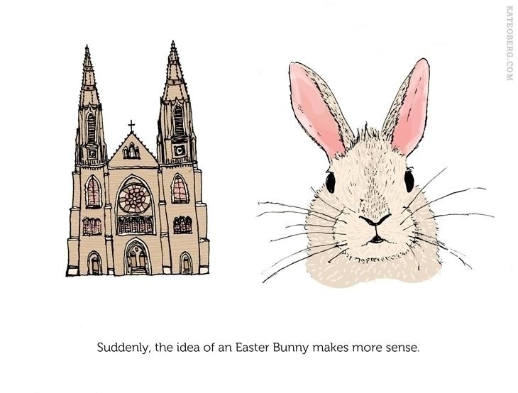 Easter observation - easterbunny - kateoberg | ello