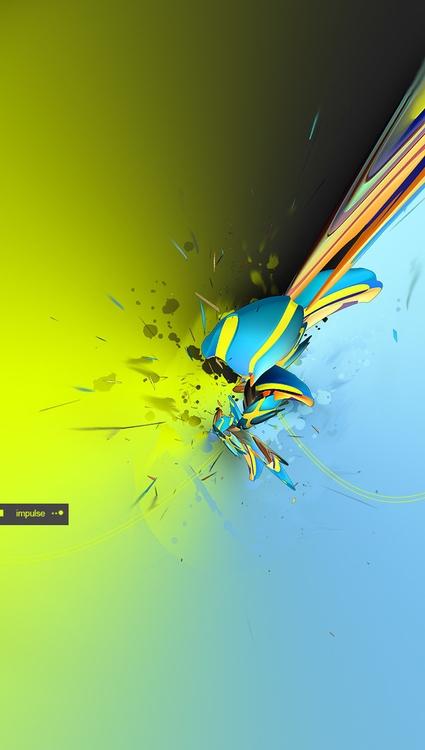 impulse - illustration, abstract - atsukosan-3588 | ello