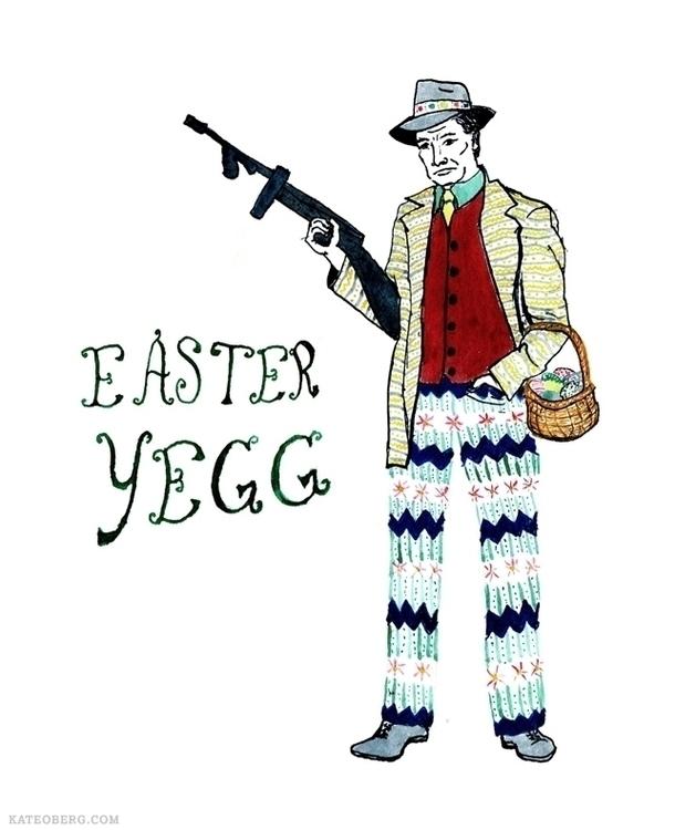 unusually themed villain: Easte - kateoberg | ello