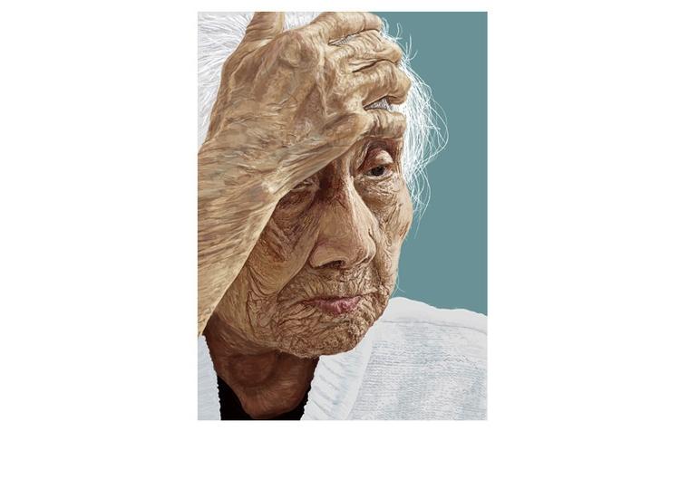 Woman - oldwoman - graceblevins | ello