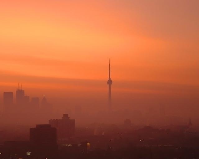 Toronto Sunrise - photography, digitalphotography - leesamclellan | ello