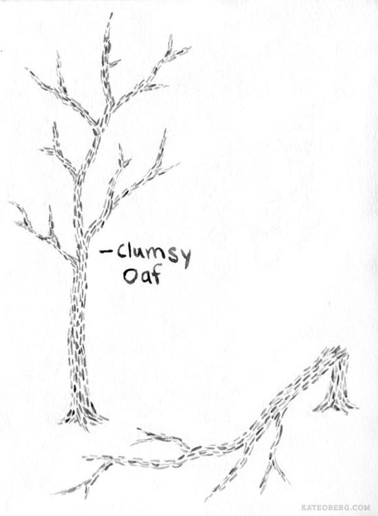 Sketch series personified insul - kateoberg | ello