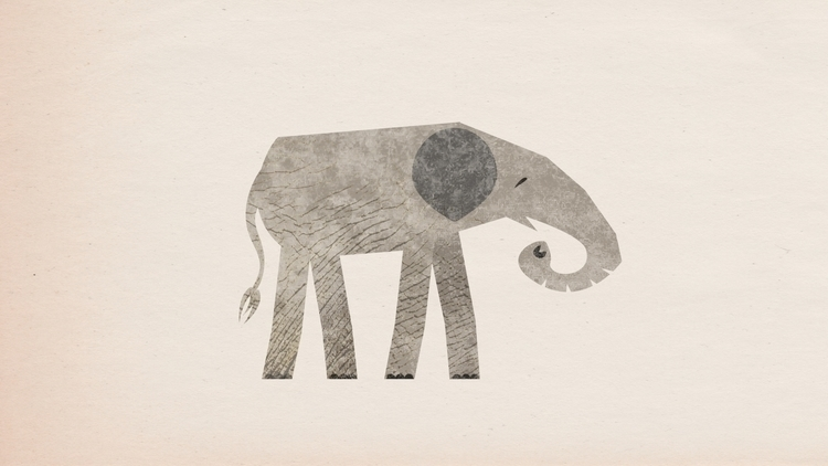 elephant, illustration - scottwenner | ello