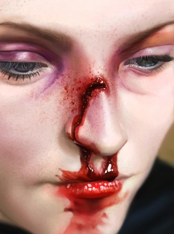 pain - painting, #digitalpainting - marinaarmus | ello