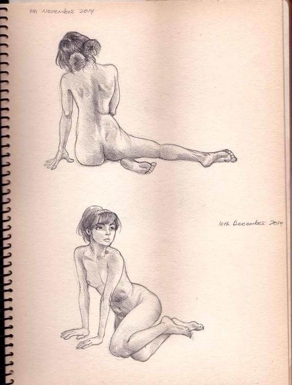 sneak peek sketch studies journ - sksk270 | ello