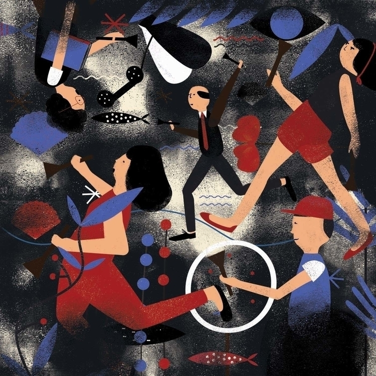 Illustration Plansponsor Benefi - michelabuttignol | ello