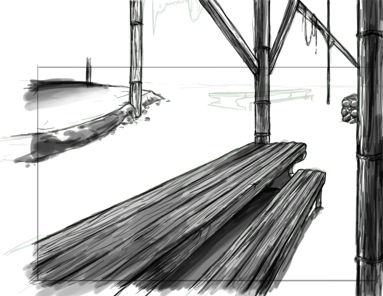 BG sketch - background, backgrounf - fishfranqz | ello