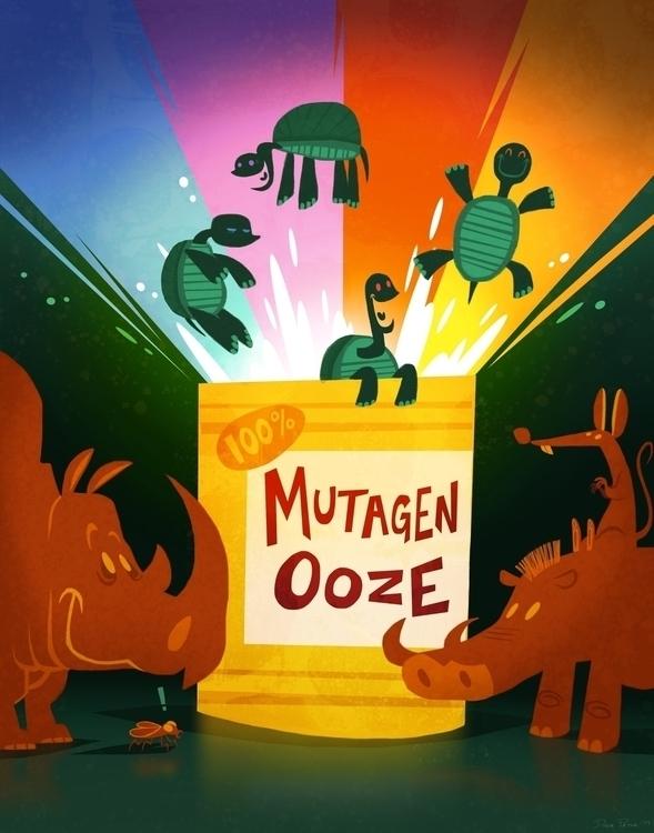 Mutagen Ooze - tmnt, teenagemutantninjaturtles - davepryor | ello