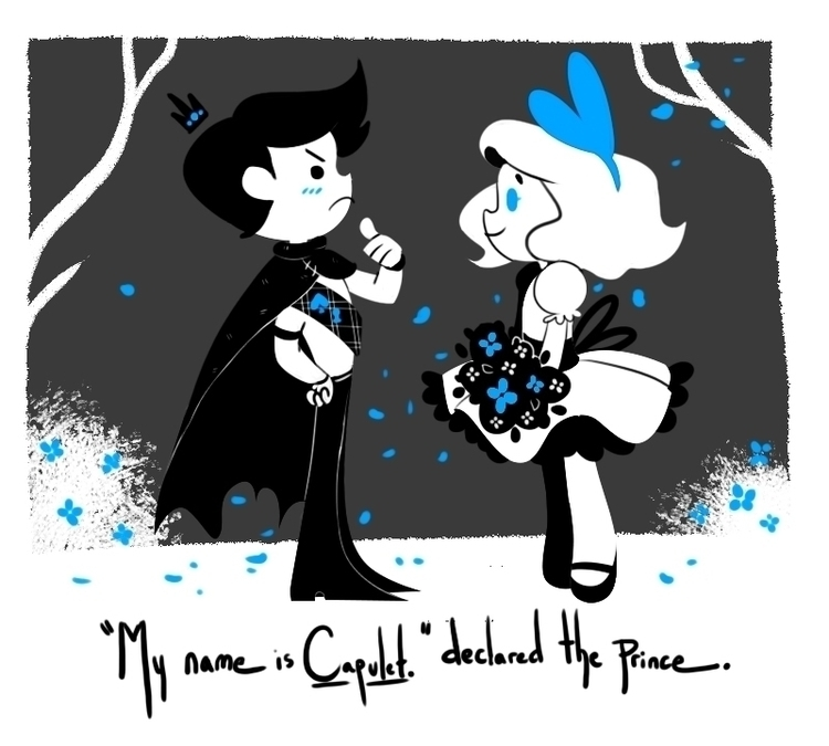 prince friend - cartoon, illustration - stephanierat | ello