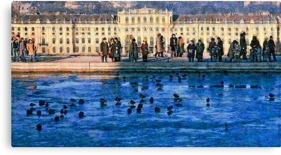 cold sunny winter day Vienna pa - leo_brix | ello