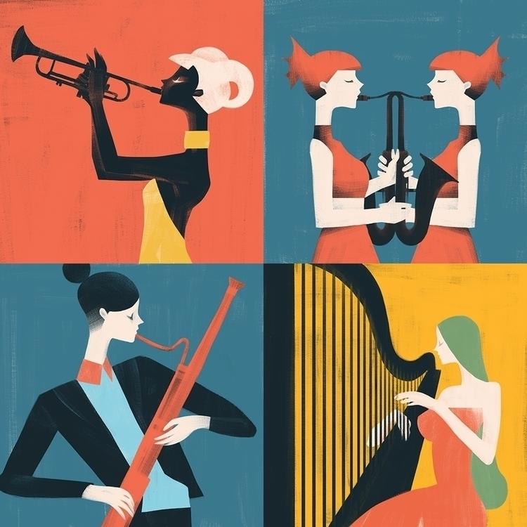 Instrumental Zodiac Girls Aries - jasuhu | ello
