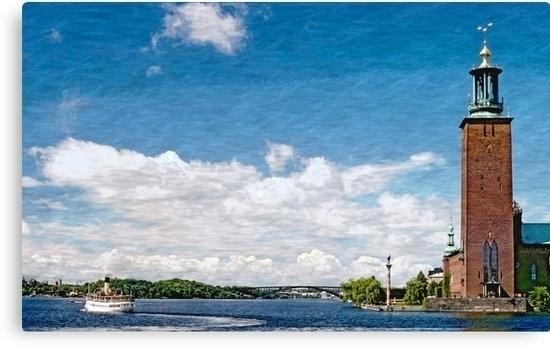 cityhall Stockholm isle Kungsho - leo_brix | ello