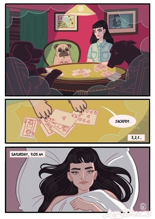 Lucy Dreams p3 - dixieleota | ello