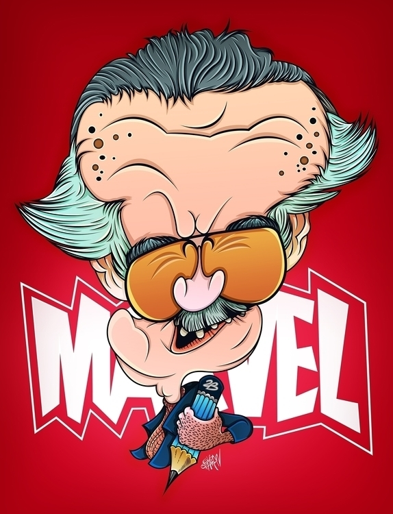 quick cartoon Stan Lee... Enjoy - eliran_bichman | ello
