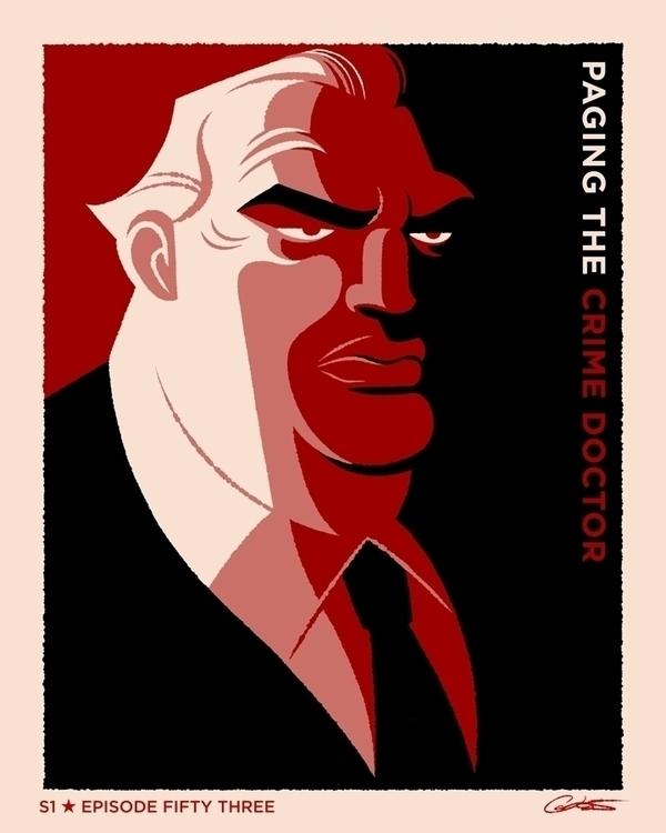poster Episode 53 Batman Animat - caltsoudas | ello